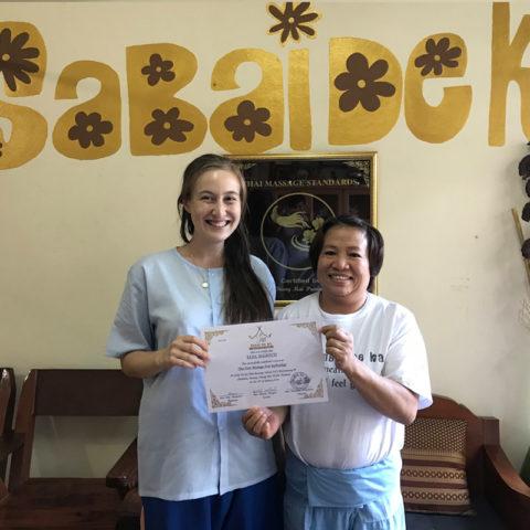 Massage Instructor - Maew - Sabai De Ka Massage School