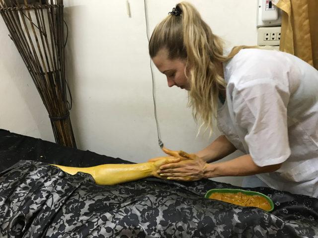 Body Scrub Course - Massage School Chiang Mai