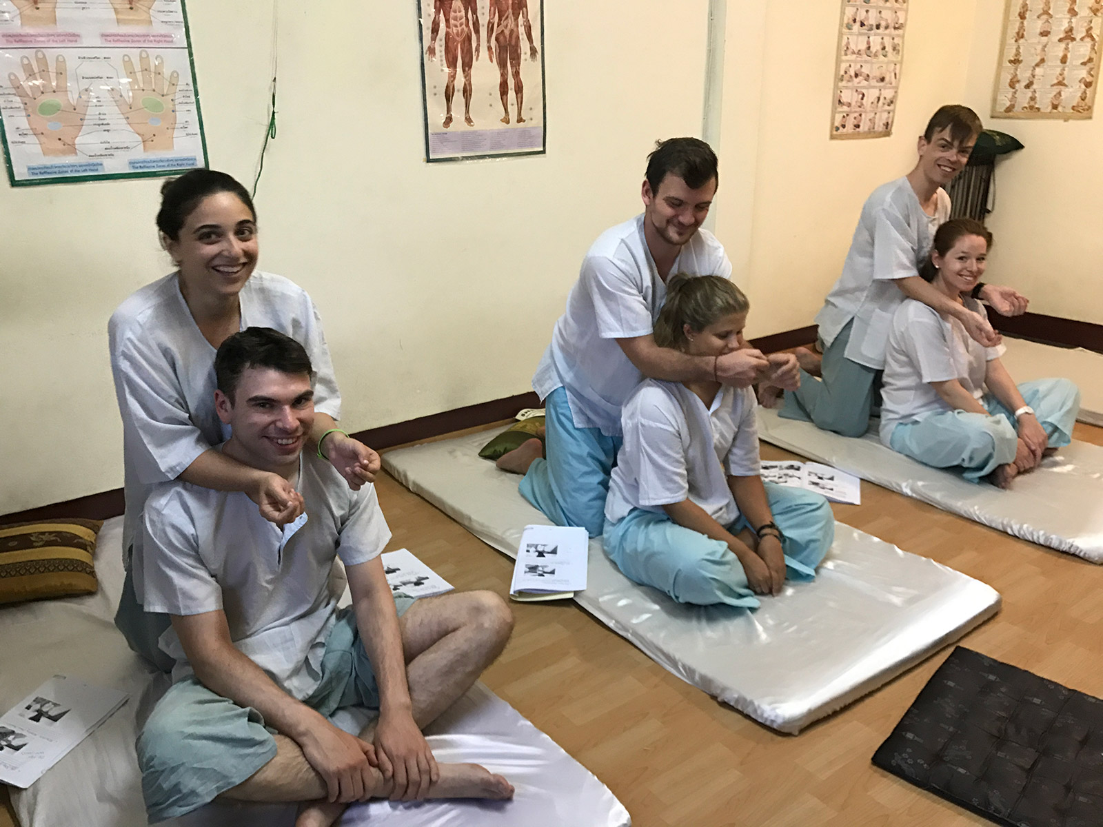 Short Massage Courses Chiang Mai Thailand