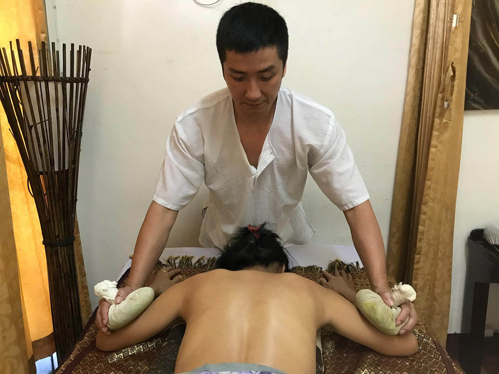 Thai Herbal Ball Massage Course in Chiang Mai, Thailand