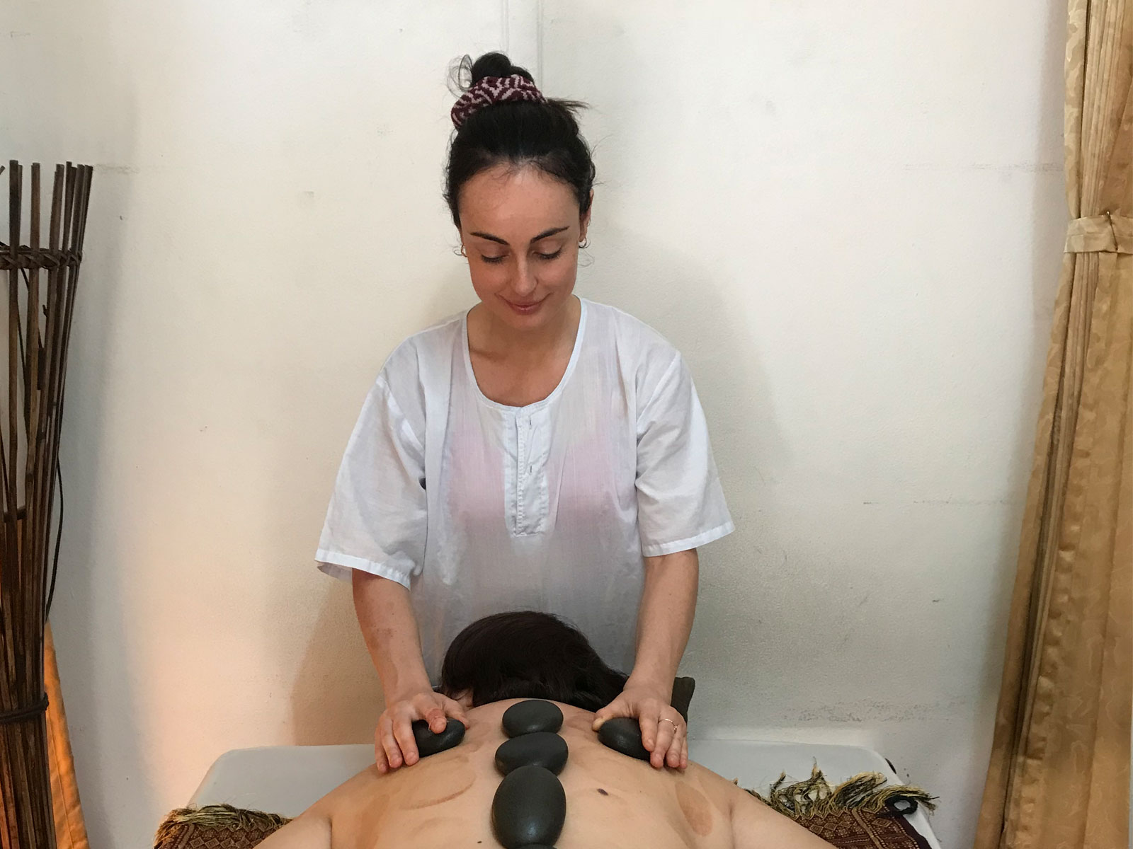 Hot Stone Massage 2-day Course in Chiang Mai