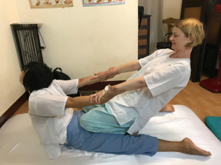 Thai Traditional Massage Course in Chiang Mai, Thailand