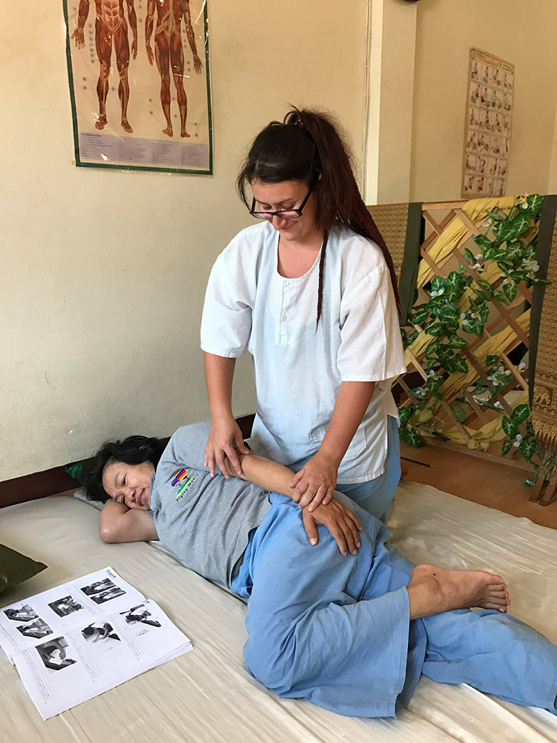 Thai Massage 3 Days Course - Sabai De Ka Massage School