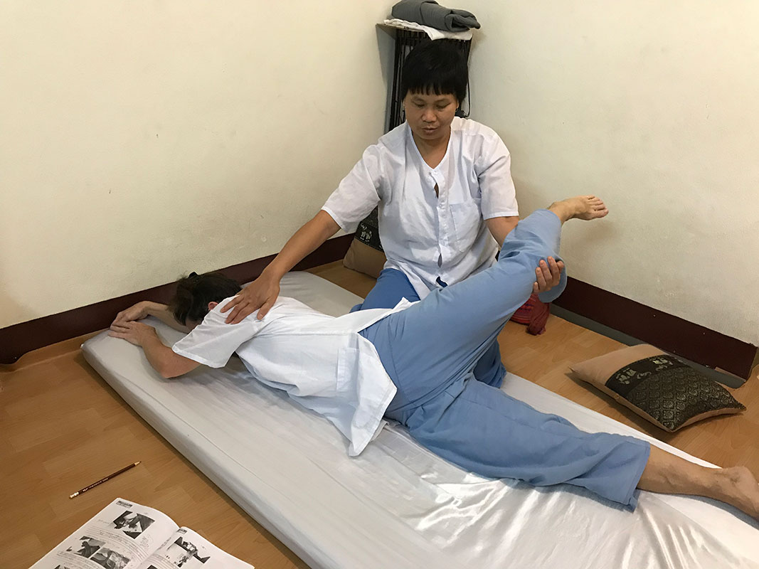 Thai Massage 3-day Course in Chiang Mai, Thailand