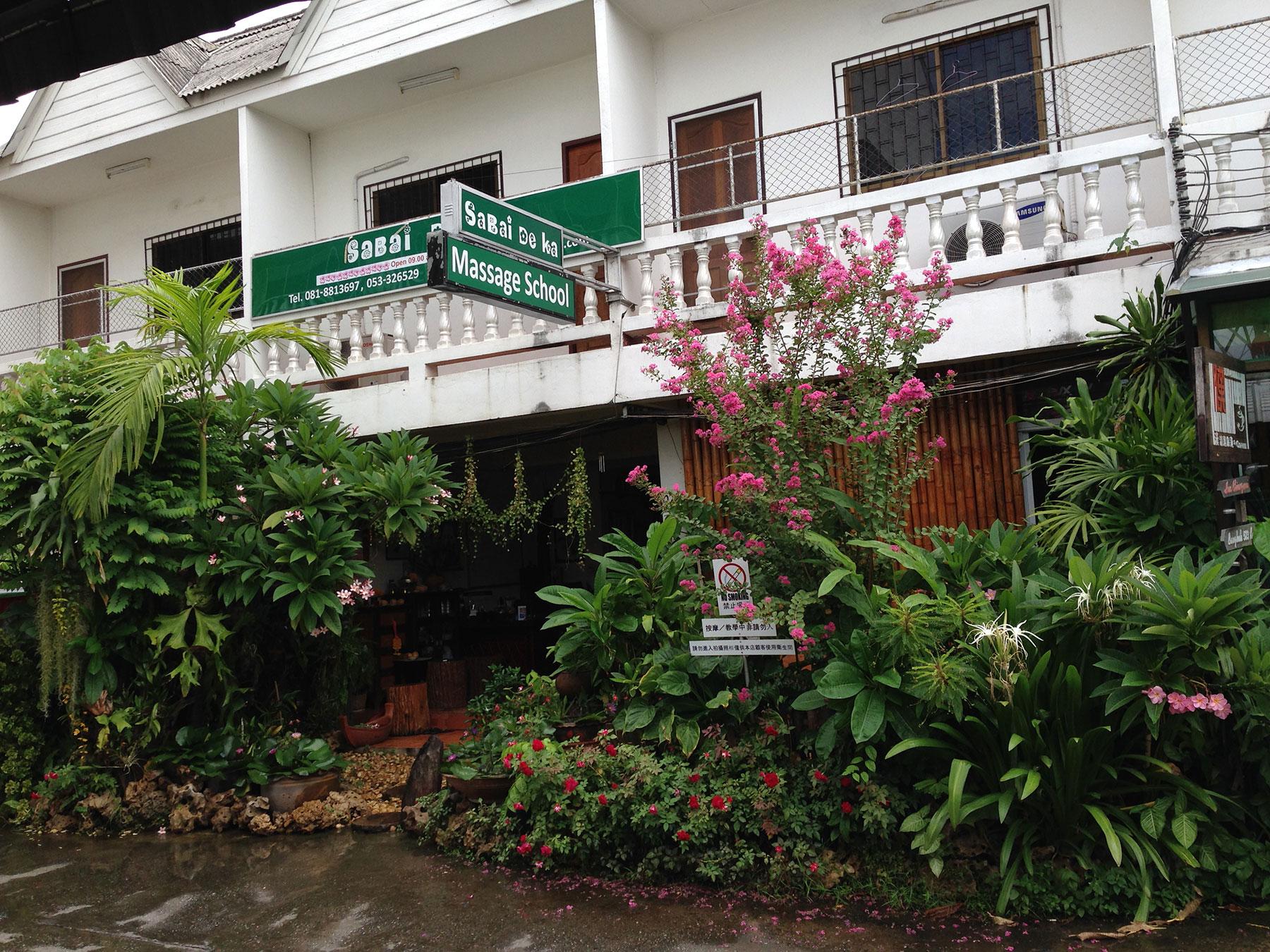 Sabai De Ka Massage School in Chiang Mai, Thailand