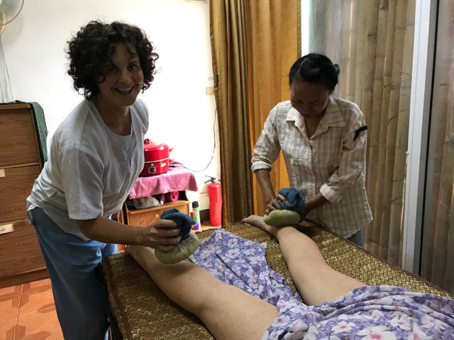 Herbal Balls Massage Course in Thailand